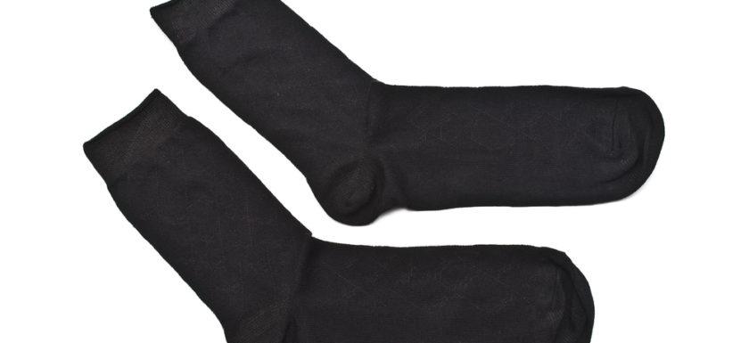 køb sorte strømper online